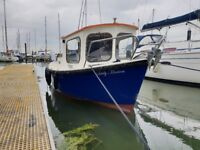 Fishing Boat. Hardy 18 fast fiaher