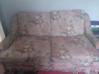 Metal action bed settee fair condition needs abit attention on a couple of springs but usable