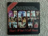Now That's What I Call Music 1 RARE vinyl double LP