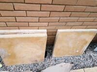 3 large paving slabs