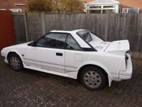 TOYOTA MR2 MK1 / 1600 TWIN CAM / SPARES OR REPAIR /NOW SOLD