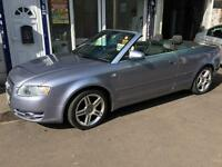A4 2006 AUDI 1.8T CONVERTIBLE PETROL WITH FULL SERVICE HISTROY & MOT