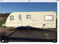 6 berth fixed bed Fleetwood sonata symphony with all extras please read