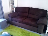 Sofa and single armchair