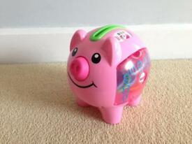 Fisher Price pink money bank