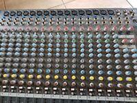 Allen and heath mixing desk