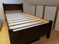 Single bed set (+2 underbed boxes + 2-drawer unit) approx. 6 years, great cond., selling 1 or 2 sets