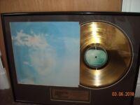 JOHN LENNON IMAGINE GOLD RECORD IN FRAME