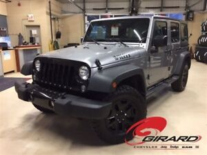 2017 Jeep WRANGLER UNLIMITED WILLYS*BLUETOOTH*HITCH*ANTIROUILLE*