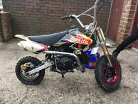 110cc pitbike/pit bike not quad scooter moped ped