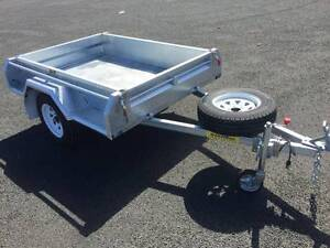 SINGLE AXLE BOX TRAILERS Welshpool Canning Area Preview
