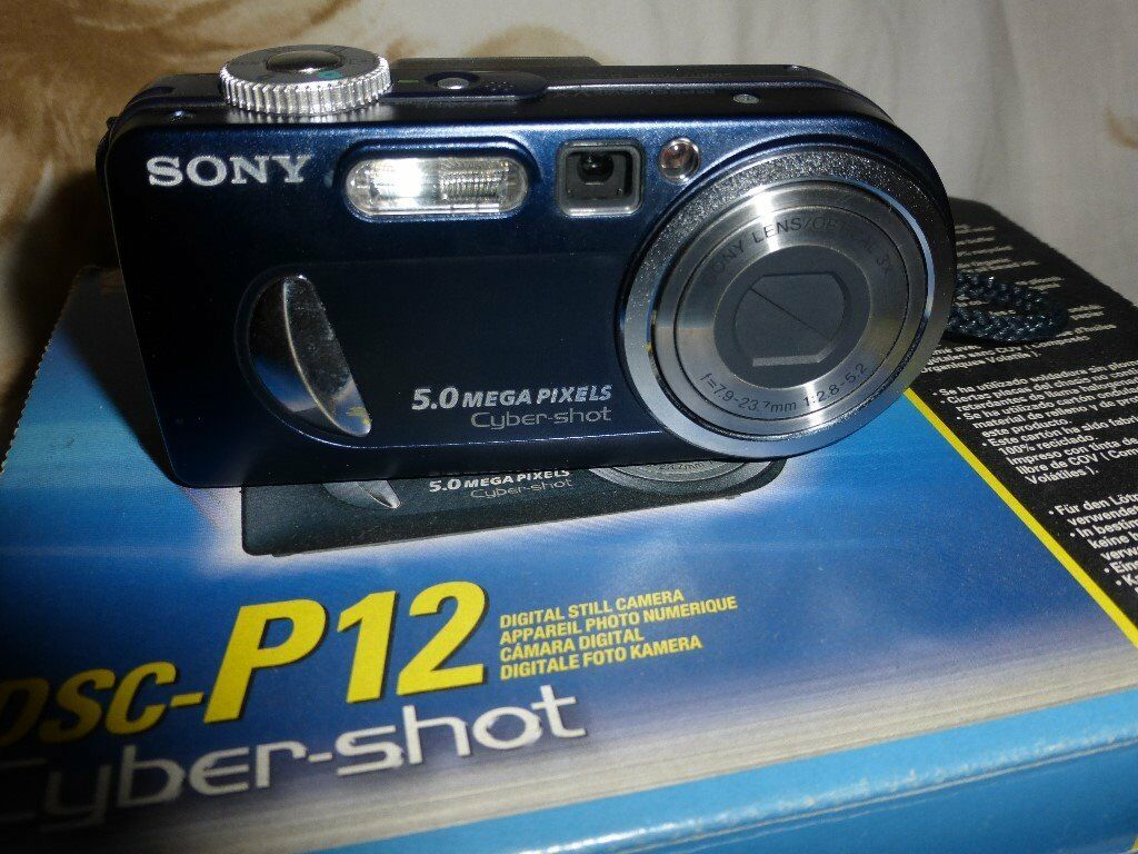 first offer sony cybershot digital camera as new condition ,with 2 sony rechargable batteries