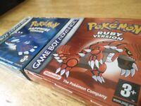 Gameboy Advance + 8 Games, Pokemon Boxed etc