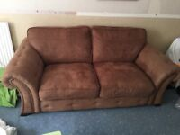 2 seat sofa, 2yrs old, good condition