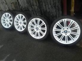 "Genuine BMW 18"" alloy wheels 5x120"