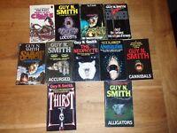GUY N SMITH PULP FICTION HORROR - 11 BOOKS BUNDLE