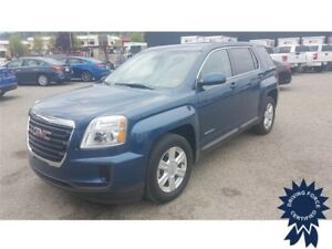 Blue 2016 GMC Terrain SLE 5 Passenger All Wheel Drive, 2.4L Gas