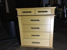 Solid wood Chest 6 of drawers