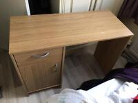 Wooden desk great condition.
