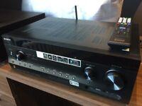 Sony STR-DN1030 7.2ch AV Receiver AND Yamaha Subwoofer - Home Cinema Audio System