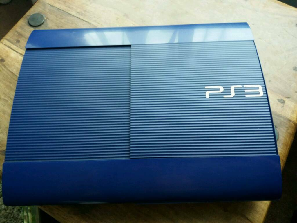 Azurite blue ps3 500gb super slim