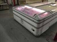 1.85m (6ft) AHT Paris Commercial Chest Freezer With Lights - £350