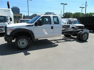 2014 Ford F-550 Ext cab 4x4 gas cab & chassis