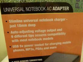 Universal Notebook AC Power Adapter
