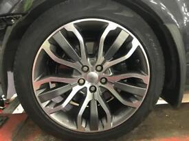 Range Rover sports alloy wheels 21 inc original
