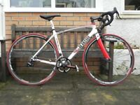 Cinelli Italian Built Full Carbon Road Bike Medium 54cms