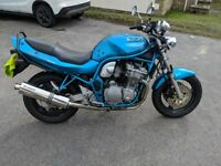 1996 Suzuki bandit 600 in excellent condition