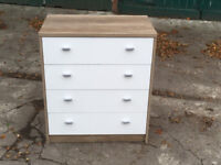 Furniture To Go 4 YOU 4-Drawer Chest with Melamine