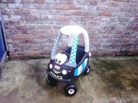 Little Tykes Police Patrol Car