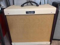 Fender Blues Junior III Bordeaux Reserve guitar amp.
