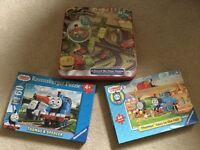 Thomas the Tank Engine and Chuggington puzzles - great condition