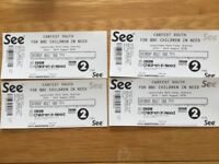 CARFEST SOUTH adult day tickets x 4 for sale. Only £50 each.