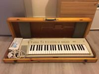 Vintage 1980's Yamaha PS-20 Keyboard & EP-1 Expression Pedal For Sale