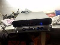 2 power amps selling as spares or repairs.