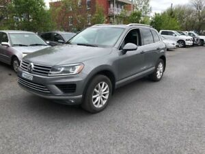 2015 Volkswagen Touareg 3.6L AWD,SPORTLINE,CUIR,TOIT PANO,MAGS,B