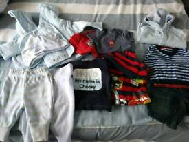 First size baby boy clothes bundle