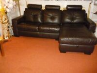 Leather sofa really stunning & very comfortable was £2799