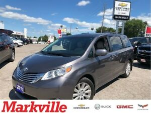 2011 Toyota Sienna LIMITED-AWD-LEATHER-NAVI-ROOF-CERTIFIED PRE-O