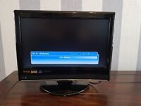 15/16 inch tv with built in freeview