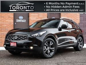 2011 Infiniti FX50 S+Navi+DVD TV+Camera+Sunroof+ventilated seats