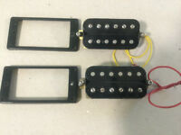 Pair humbucker pickups