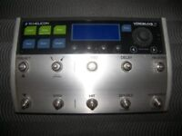 TC Helicon VoiceLive 3 / Vocal Harmony & Guitar Effects Processor , Vocalist.