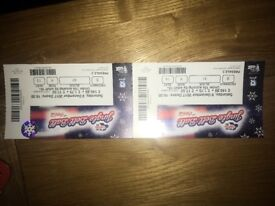 2 tickets for jingle bell ball Saturday night