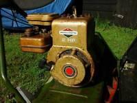 Webb lawnmower