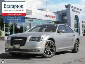 2016 Chrysler 300 S   RWD   PREVIOUS DAILY RENTAL   8.4 IN TOUCH