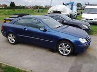 mercedes clk 200 lpg gas full mot full service history auto